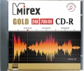MIREX GOLD CD-R 700Mb 24x