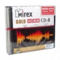 MIREX GOLD CD-R 700Mb 24x Slim 5 Pack