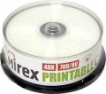 MIREX CD-R 700Mb 48x printable (Cake 25)