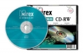 MIREX CD-RW 700Mb 4-12x HI-SPEED Slim 5