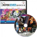 MIREX DVD-R 4,7Gb 16x DVD-aRt CINEMA SHOW Портмоне (10 dvd-r)