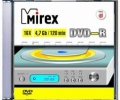 MIREX DVD-R 4,7Gb 16x Slim 5 pack